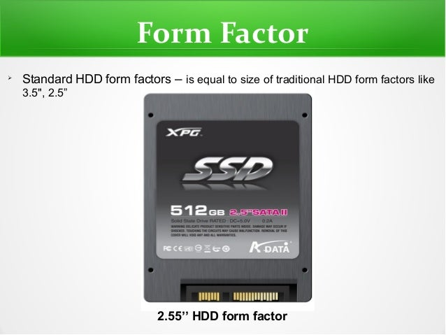 SSD - Solid State Drive PPT by Shyam jos