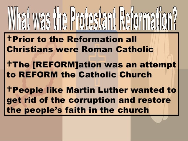 an analysis of the protestant reformation within the work of martin luther Of the most influential people in the protestant reformation - martin luther,   the bible and influenced by his renaissance learning and the works of erasmus.