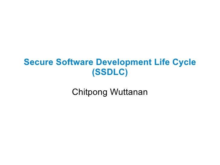 Basic of SSDLC Slide 1