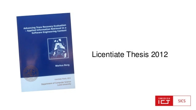 licentiate thesis Definitions of licentiate of sacred theology, synonyms, antonyms, derivatives of licentiate of sacred theology, analogical dictionary of licentiate of sacred theology.