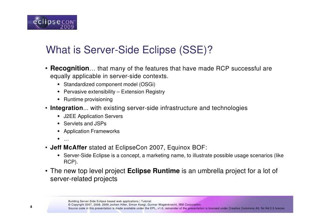server side web application frameworks
