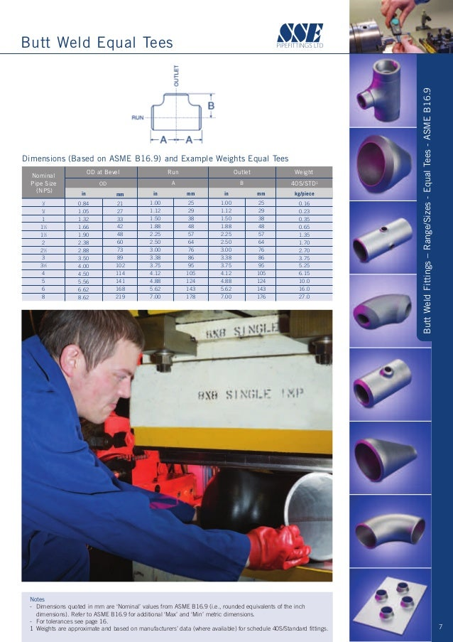 ... 7.  sc 1 st  SlideShare & SSE Pipefittings Brochure