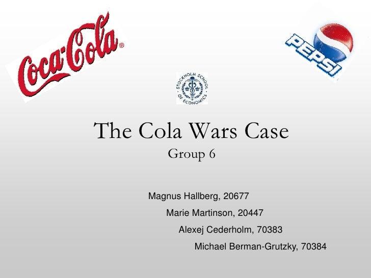 the cola wars 3 essay View notes - cola wars case essay from sgmt 3000 at york university cola wars continue: coke and pepsi in 2010 case assignment #2 harini de silva sgmt 3000 c instructor mohammad keyhani.