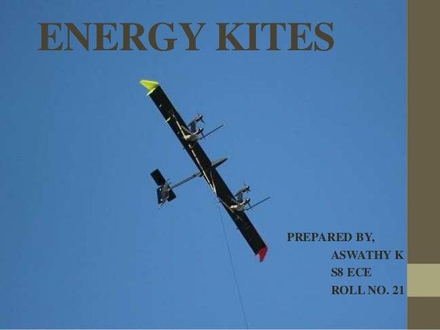 ENERGY KITES