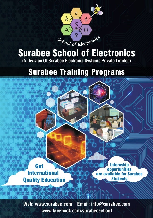 Surabee School of Electronics (A Division Of Surabee Electronic Systems Private Limited)  Surabee Training Programs  Get I...