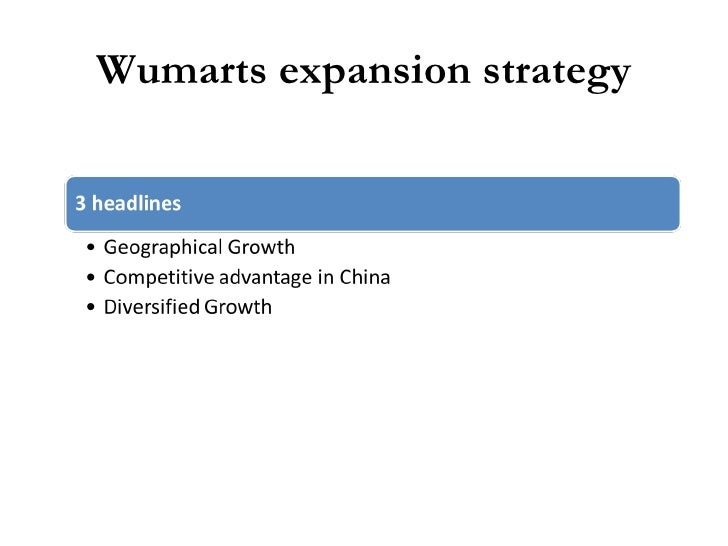 wumart stores case study