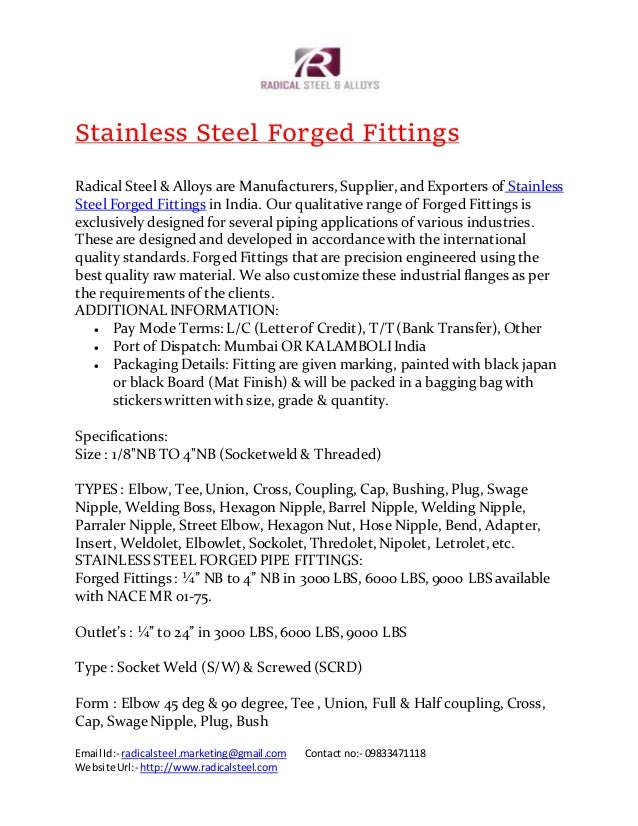 Ss forged fittings (1)