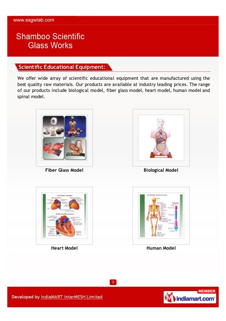 Scientific Educational Equipment:We offer wide array of scientific educational equipment that are manufactured using thebe...