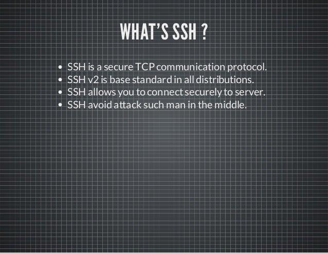 Ssh cookbook Slide 2