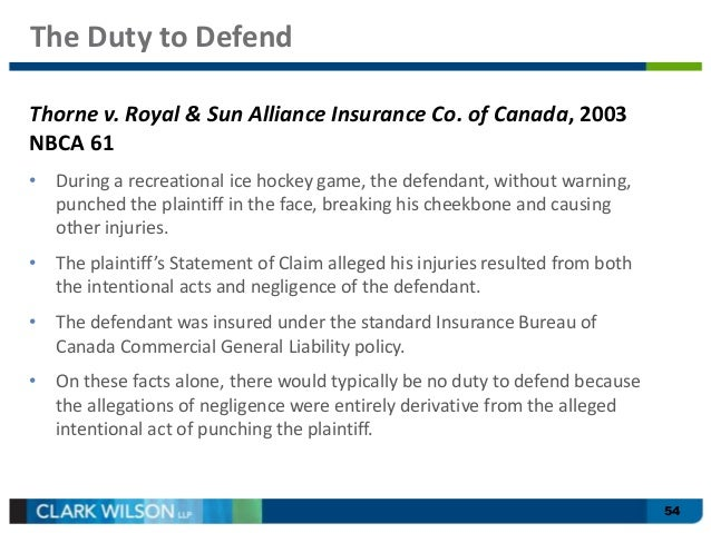 intentional harm tort hockey Assault and battery as personal injury claims  an intentional tort of assault  appropriately to a threat of harm, then a lawsuit for assault and/or.
