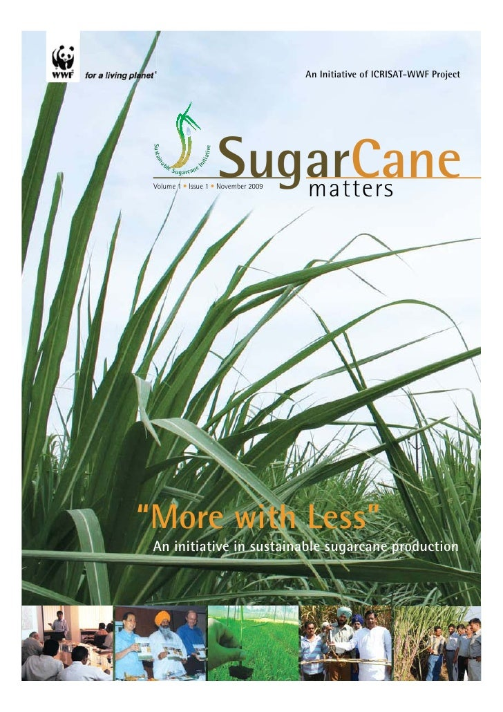 An Initiative of ICRISAT-WWF Project      S ust ai                                                SugarCane               ...