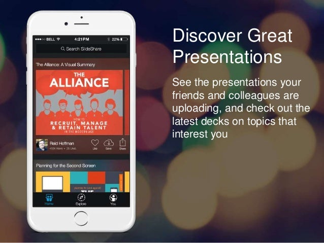 Introducing SlideShare for iOS Slide 2