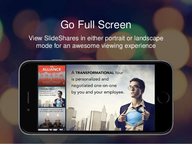 Introducing SlideShare for iOS Slide 3