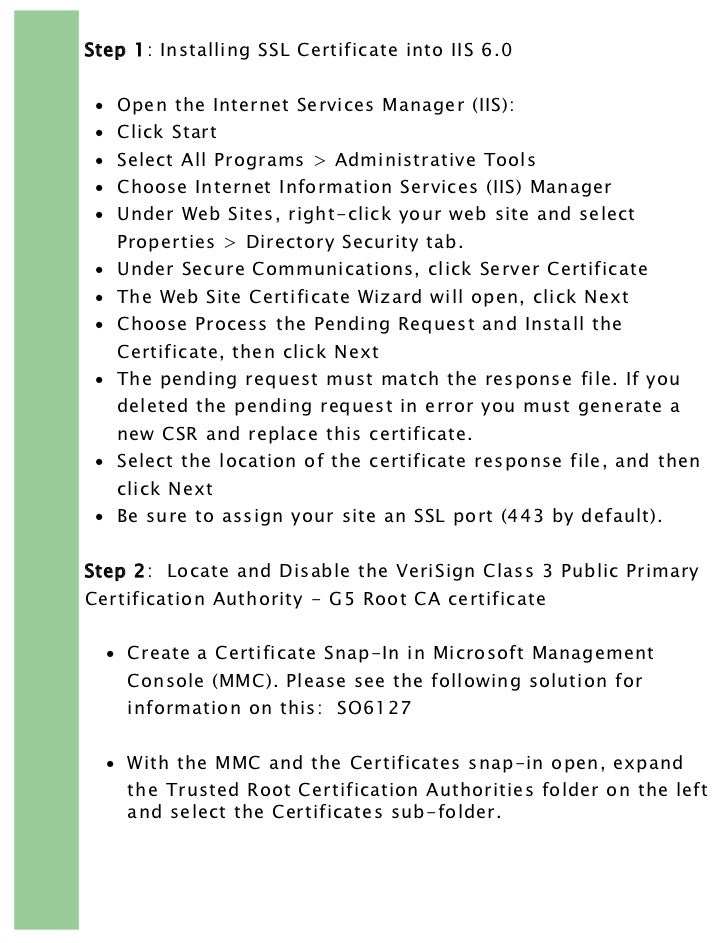 Verisign Root Certificate Choice Image Free Certificates For All