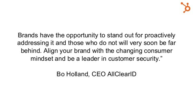 Brands have the opportunity to stand out for proactively addressing it and those who do not will very soon be far behind. ...