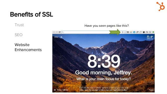 Benefits of SSL Trust SEO Website Enhancements Have you seen pages like this?
