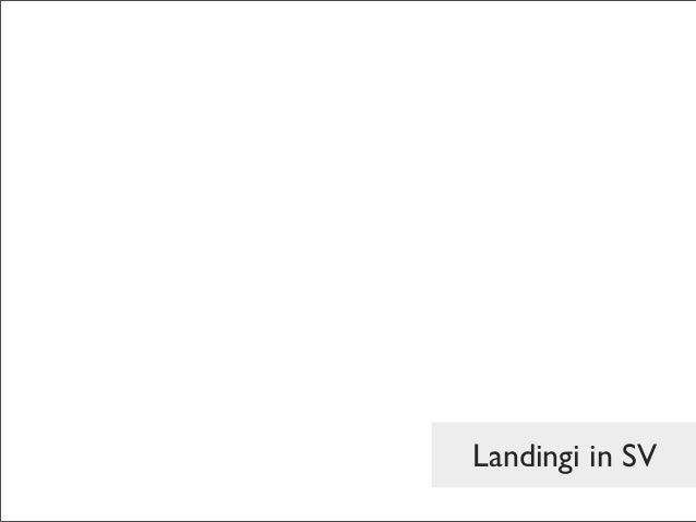 Landingi in SV