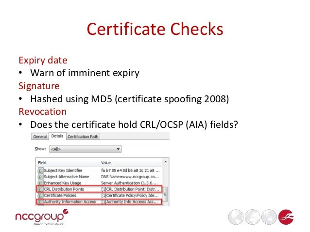 SSL Checklist for Pentesters (BSides MCR 2014)