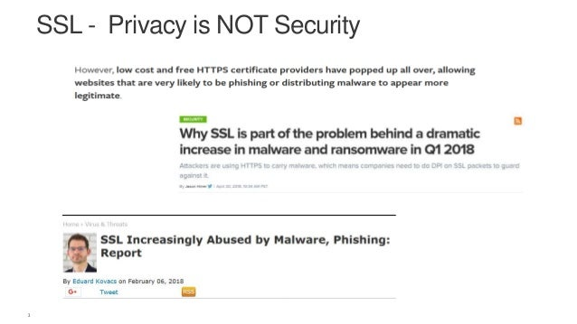 Protection and Visibitlity of Encrypted Traffic by F5 Slide 3