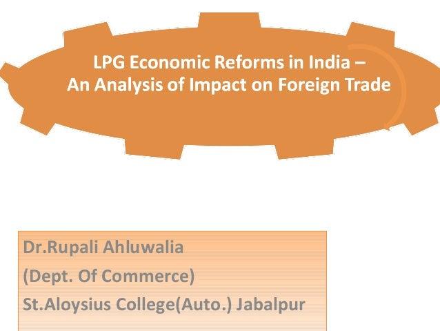 Economic reforms: Ideas for India