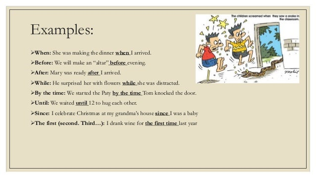 Adverbial Clauses Of Time