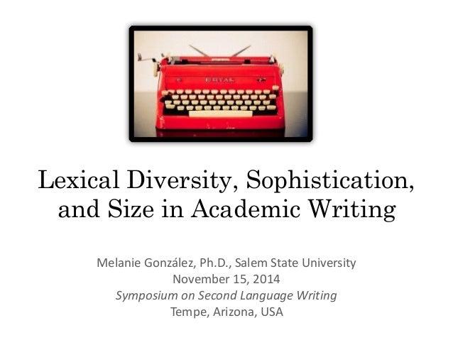 Academic essay font size