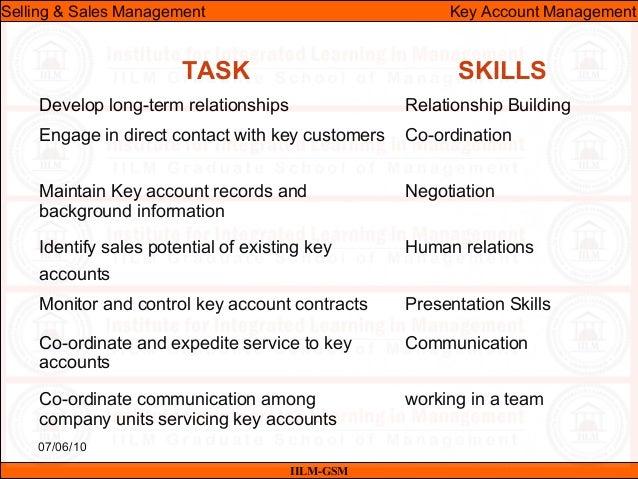 Ssm lecture-20 & 21 (key account management)