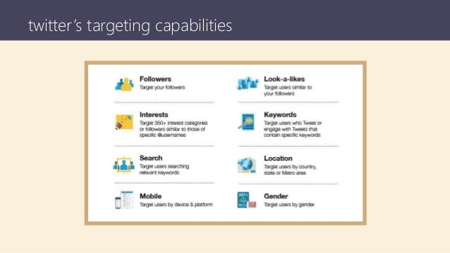 twitter's targeting capabilities