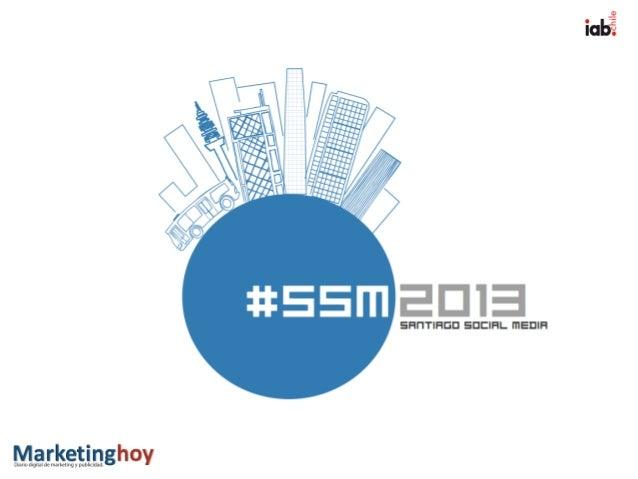 Estadísticas 2012                     @stgosocialmedia   Santiago Social Media