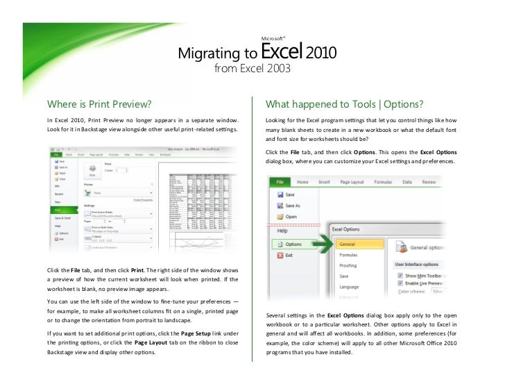 how to get excel page break view on osx