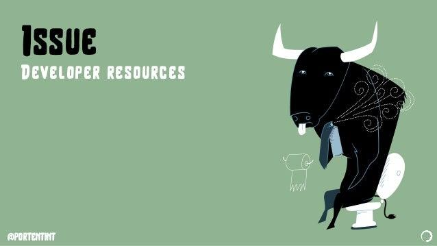 @portentint Issue Developer resources