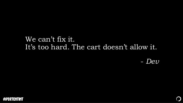 @portentint We can't fix it. It's too hard. The cart doesn't allow it. - Dev