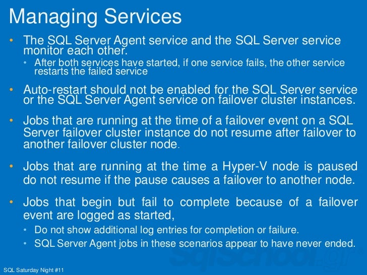how to use sql server agent