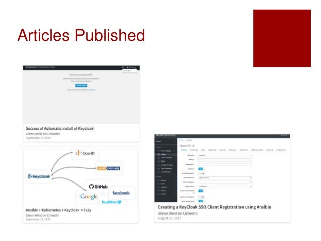 SSO/Keycloak for Openshift