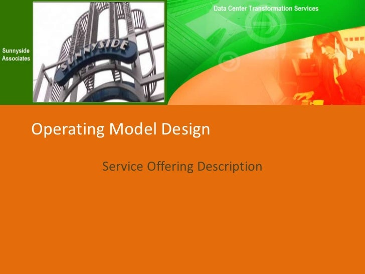 Cloud Operating Model Design