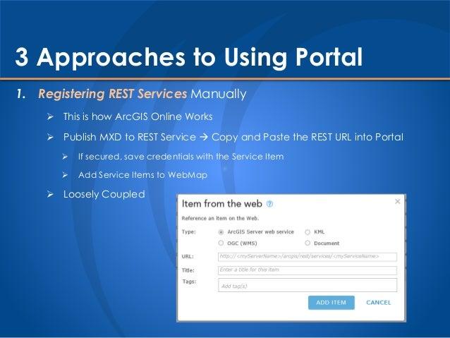 Portal vs  ArcGIS Online