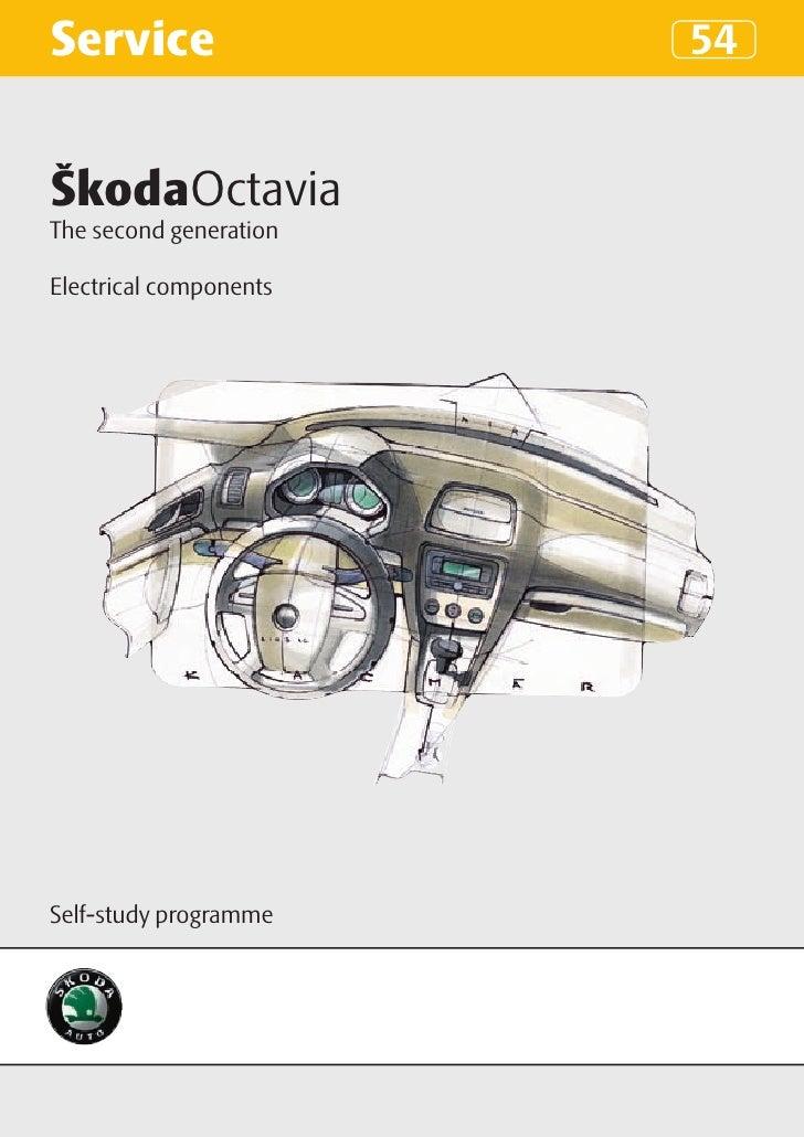 Ssp 054 en_octavia ii_электрика автомобиля G Audi A Wiring Diagram on