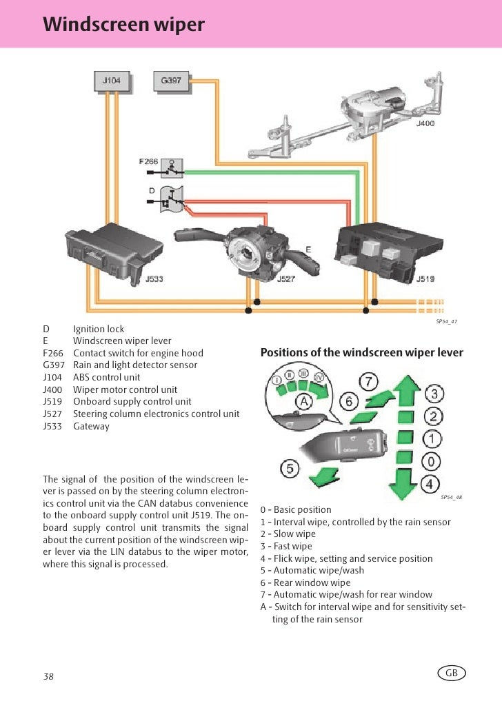Ssp 054 en_octavia ii_электрика автомобиля