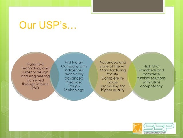 Our USP's…