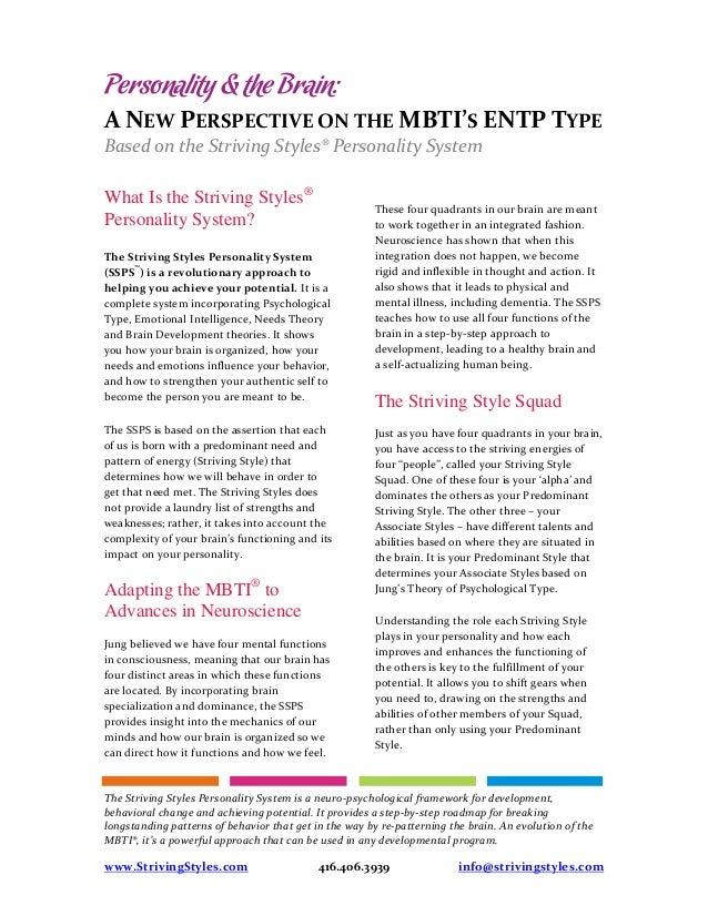 POINTS YOU SHOULD NOTE ABOUT AN ENTP: PART 1 – SlapSleeper