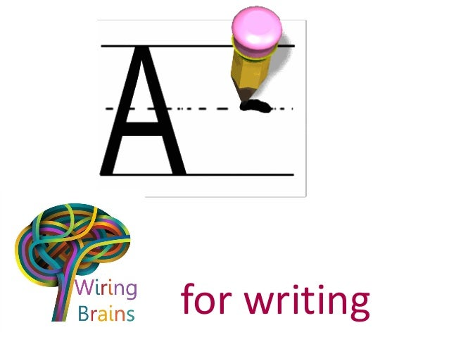 for writing