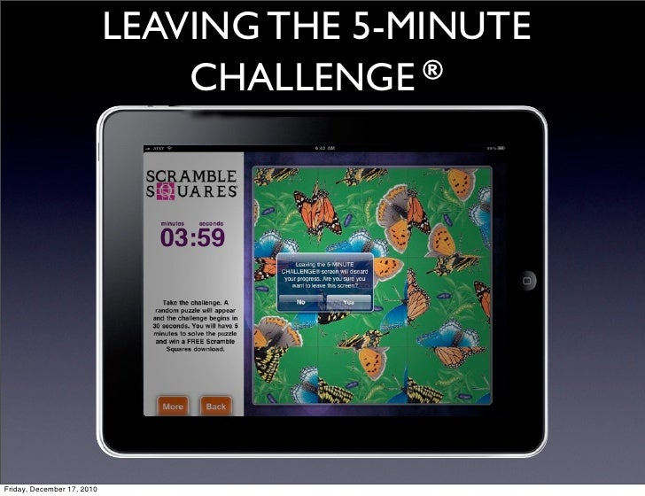 Scramble Squares iPad, iPhone and iPod Touch Puzzle App