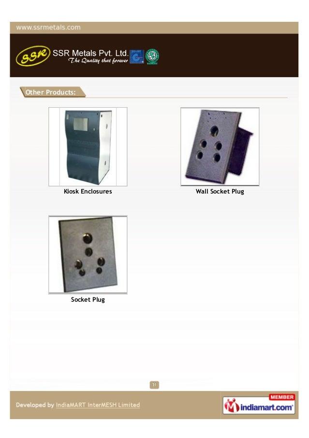 Other Products:           Kiosk Enclosures   Wall Socket Plug             Socket Plug