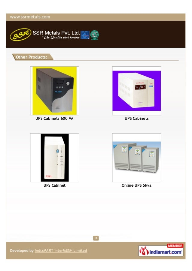 Other Products:         UPS Cabinets 600 VA         UPS Cabinets             UPS Cabinet            Online UPS 5kva       ...
