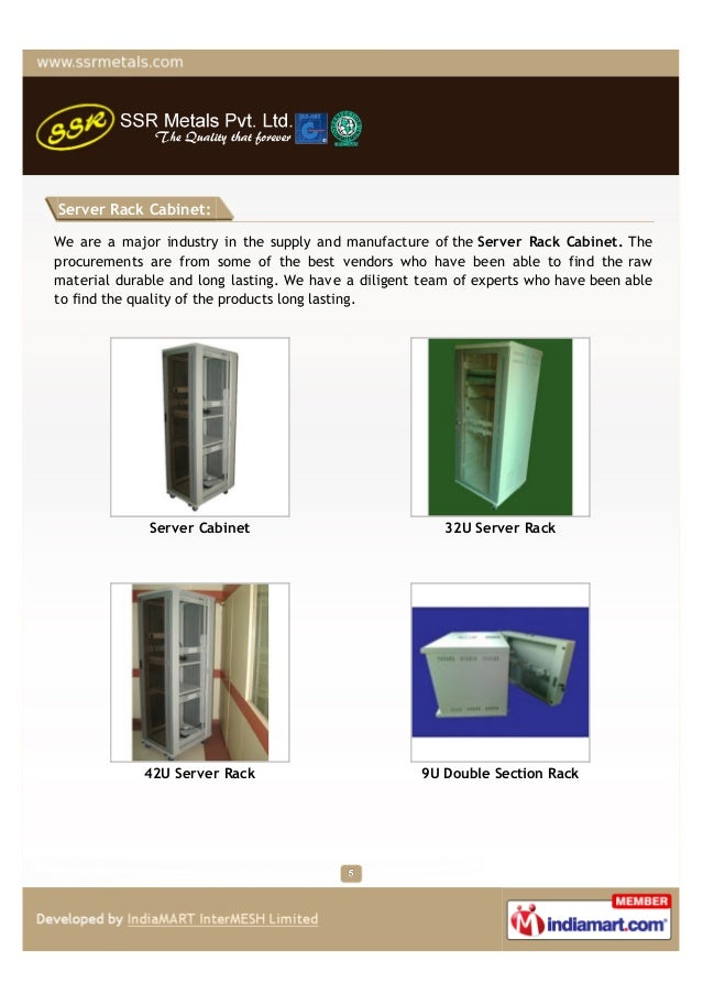 Server Rack Cabinet:We are a major industry in the supply and manufacture of the Server Rack Cabinet. Theprocurements are ...