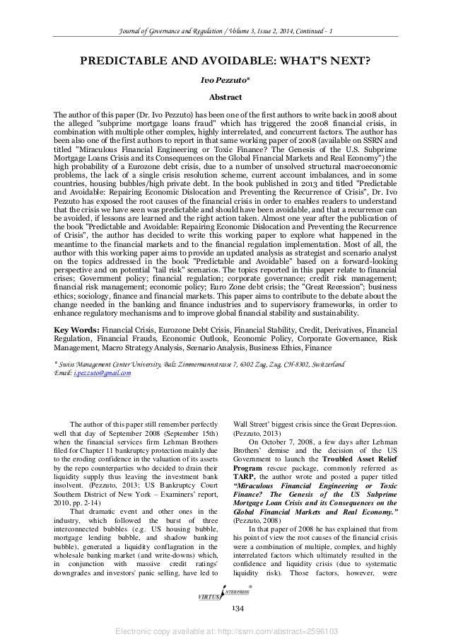 Electronic copy available at: http://ssrn.com/abstract=2596103 Journal of Governance and Regulation / Volume 3, Issue 2, 2...