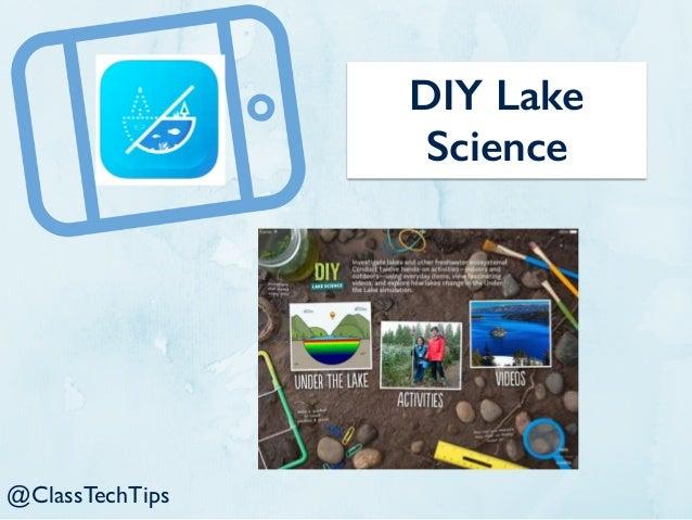 DIY Lake Science @ClassTechTips