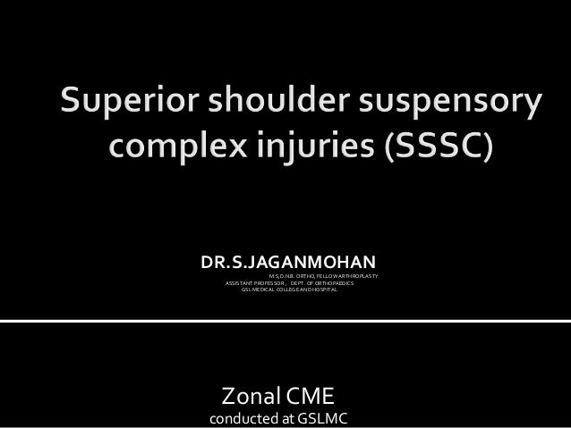 Zonal CME conducted at GSLMC DR.S.JAGANMOHAN M.S,D.N.B. ORTHO, FELLOW ARTHROPLASTY ASSISTANT PROFESSOR , DEPT. OF ORTHOPAE...