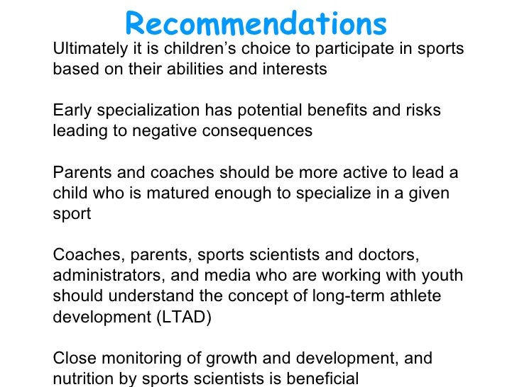 should execptionally talented young athletes be Unless your elite athlete is an only child, younger sibs get toted along  teams  sought out a handful of older, exceptionally talented athletes so.