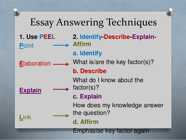 Basic Essay Structure for CHUM